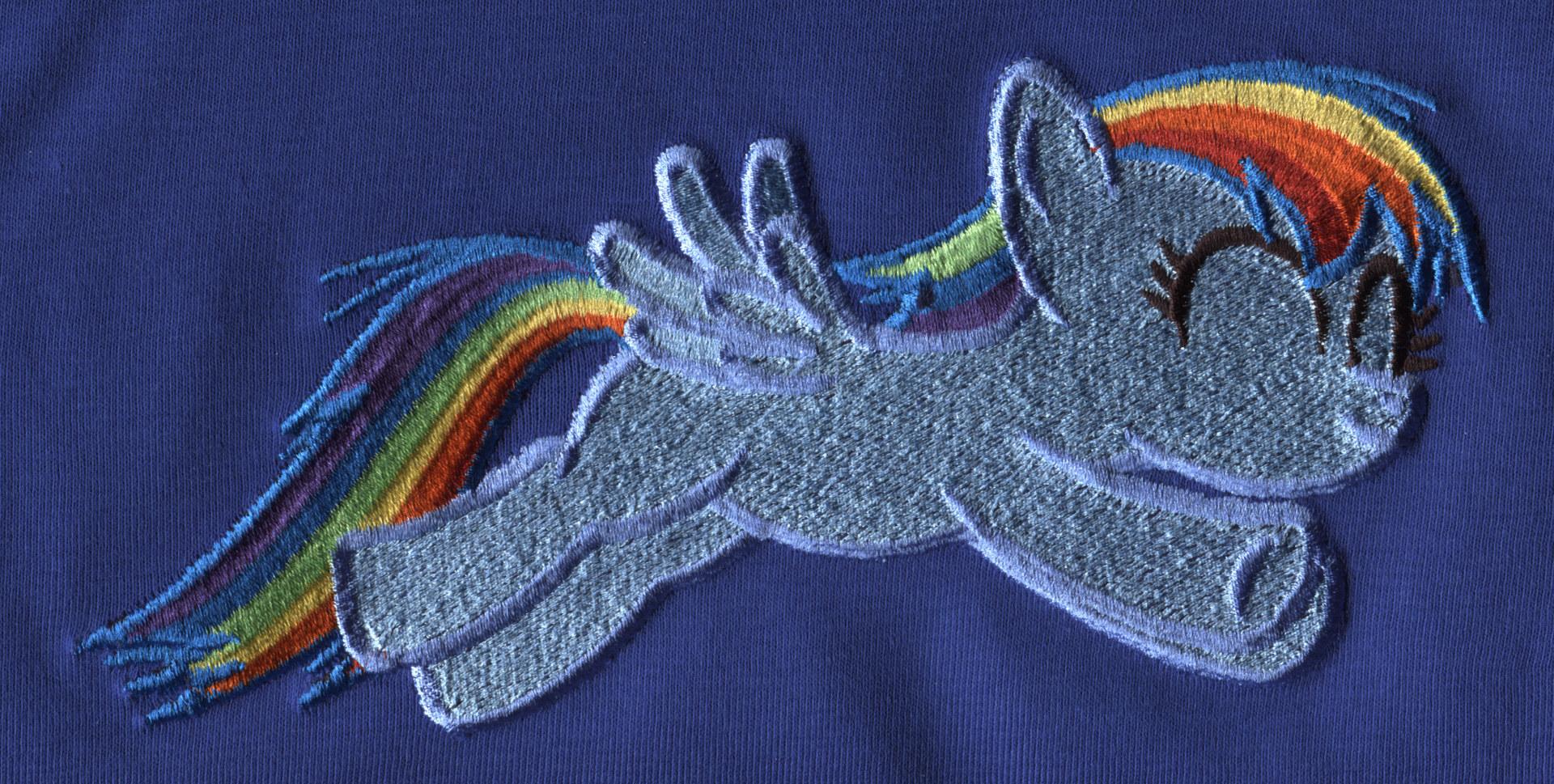 Pony-Stickerei 1
