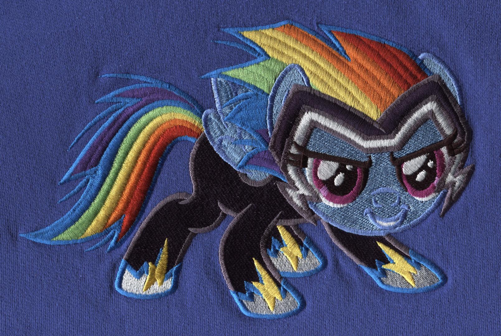 Pony-Stickerei 2
