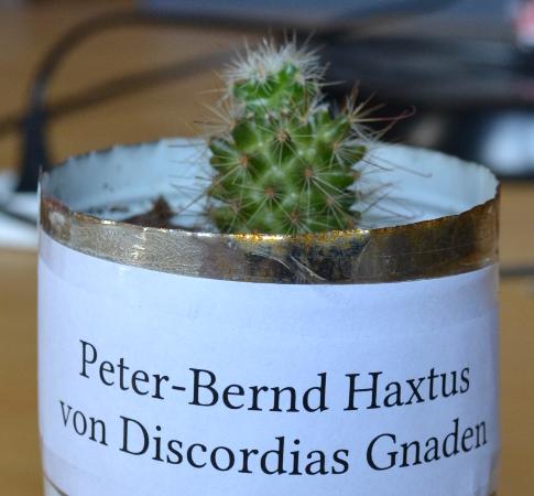 Peter-Bernd Haxtus von Discordias Gnaden