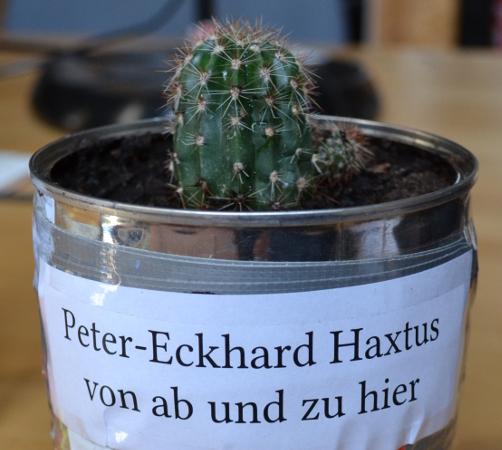 Peter-Eckhard Haxtus von ab und zu hier